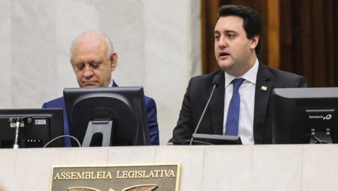 Ademar Traiano e Ratinho Junior