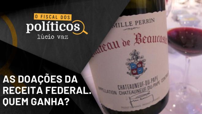 Receita Federal: doações - Lúcio Vaz