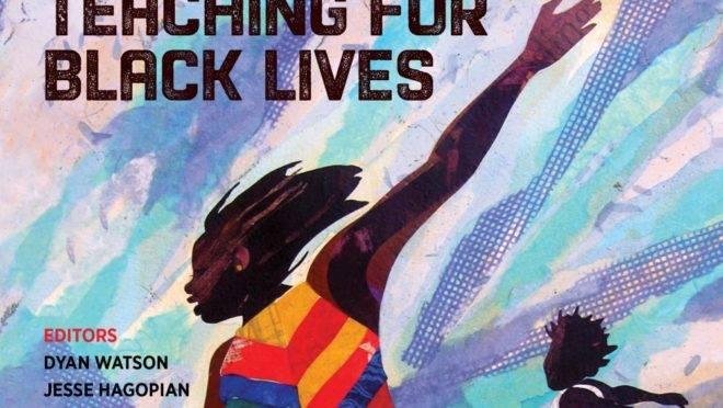 Capa de livro didático criado por integrantes do grupo Black Lives Matter.