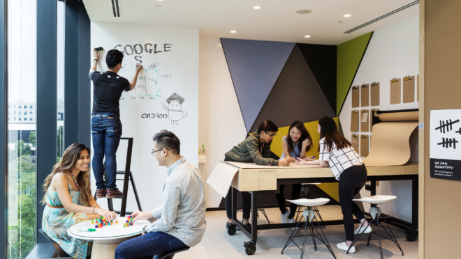 Escritório do Google em Singapura