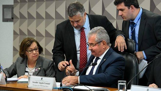 A comissão parlamentar de inquérito tem o senador Angelo Coronel (PSD-BA) como presidente.