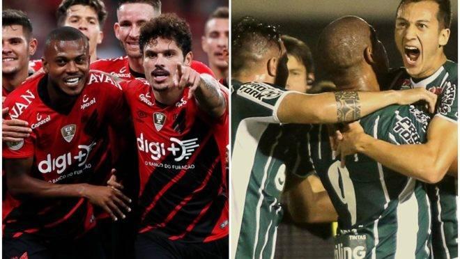 Montagem com fotos de Raphael Vinicius Brauhardt/Coritiba Foot Ball Club  e Jonathan Campos/Gazeta do Povo