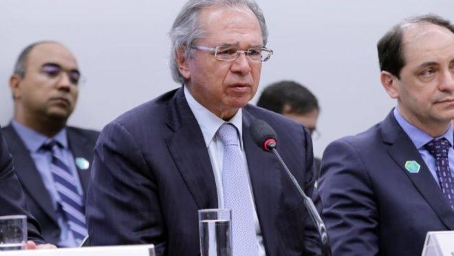 Paulo Guedes em audiência pública na Câmara