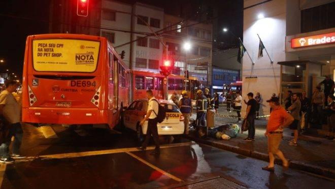 Acidente na Rua André de Barros