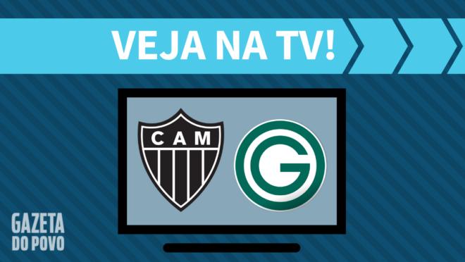 Atlético-MG x Goiás: veja na TV