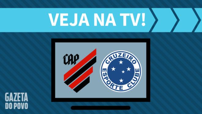 Athletico x Cruzeiro: veja na TV