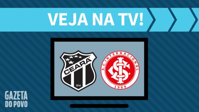 Ceará x Internacional: veja na TV