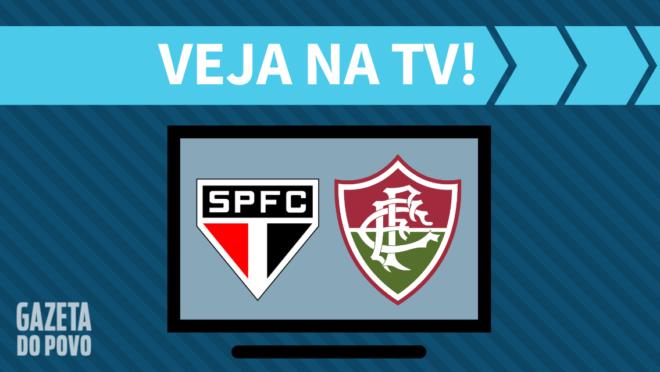 São Paulo x Fluminense: veja na TV