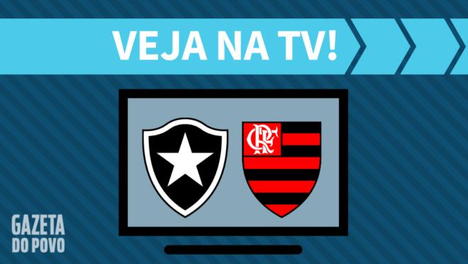 Botafogo x Flamengo: veja na TV
