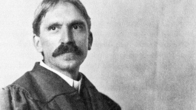 John Dewey na Universidade de Chicago em 1902.