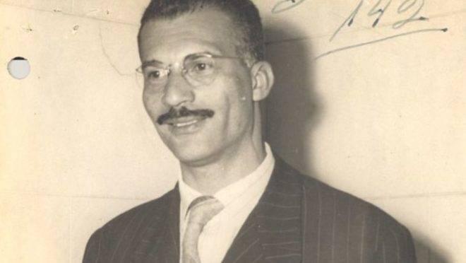Marighella quando deputado, em 1946 ou 1947.