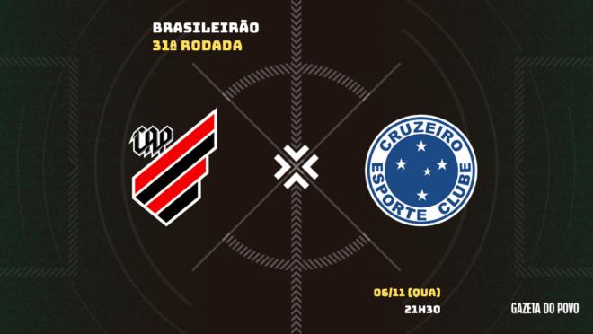 Athletico x Cruzeiro: informações, ingressos, escalações e arbitragem