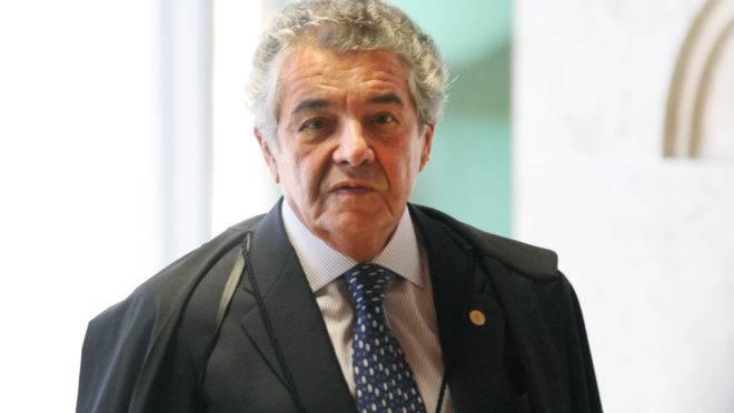 O ministro Marco Aurélio Mello, do STF.