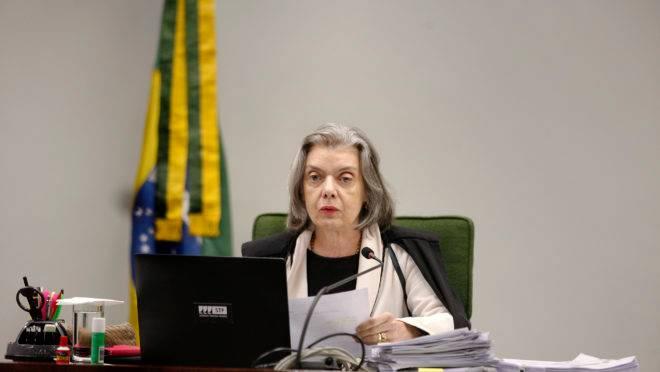 Ministra Carmen Lucia, do Supremo Tribunal Federal