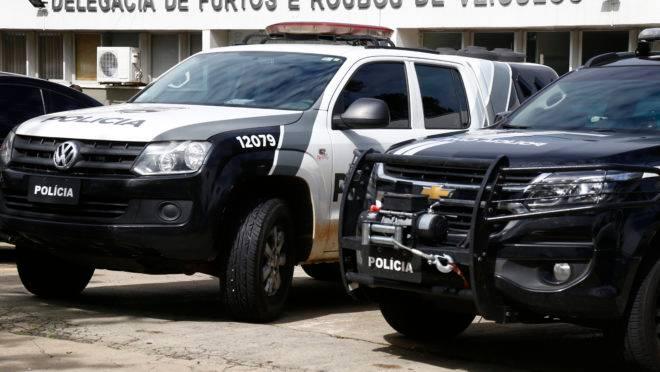 Delegacia de Furtos e Roubos de Veículos, para onde são levados veículos de furtos e roubos em Curitiba