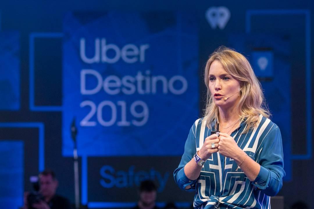 Cláudia Woods, diretora-geral da Uber no Brasil. (Foto: Divulgação)