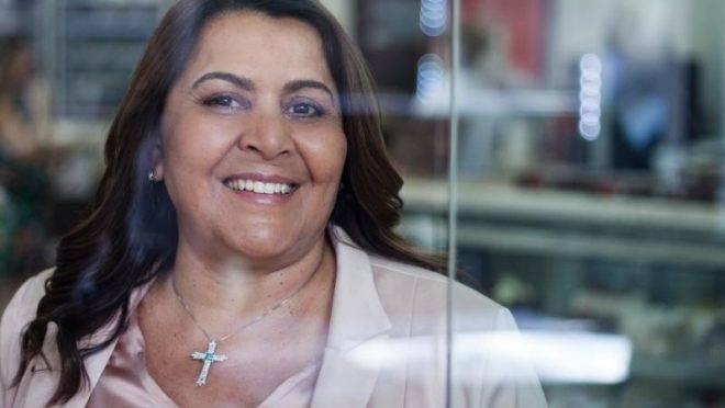 Cleusa Maria da Silva, fundadora da Sodiê Doces