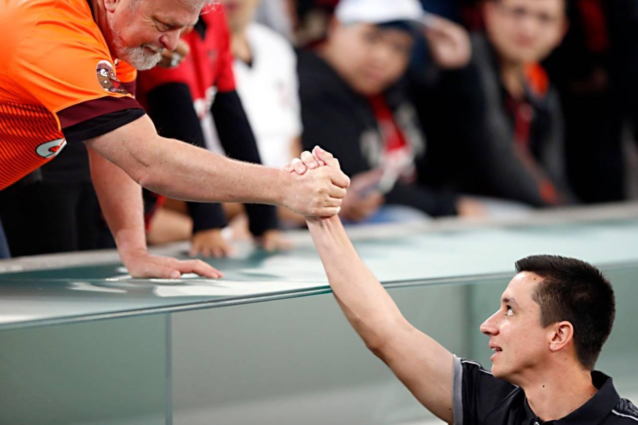 Eduardo Barros comandou o Athletico interinamente. Foto: Albari Rosa/Gazeta do Povo