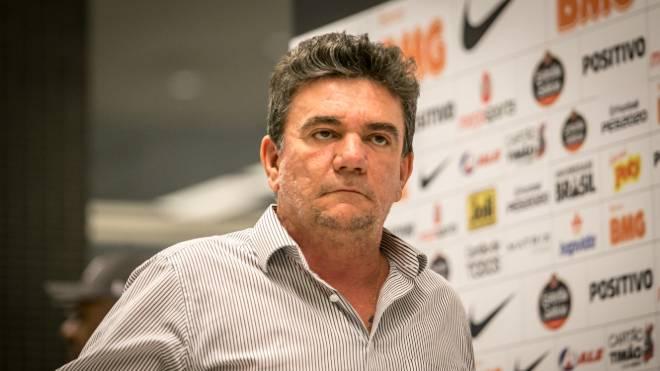 Presidente do Corinthians, Andrés Sanchez criticou presidente do Athletico, Mario Celso Petraglia