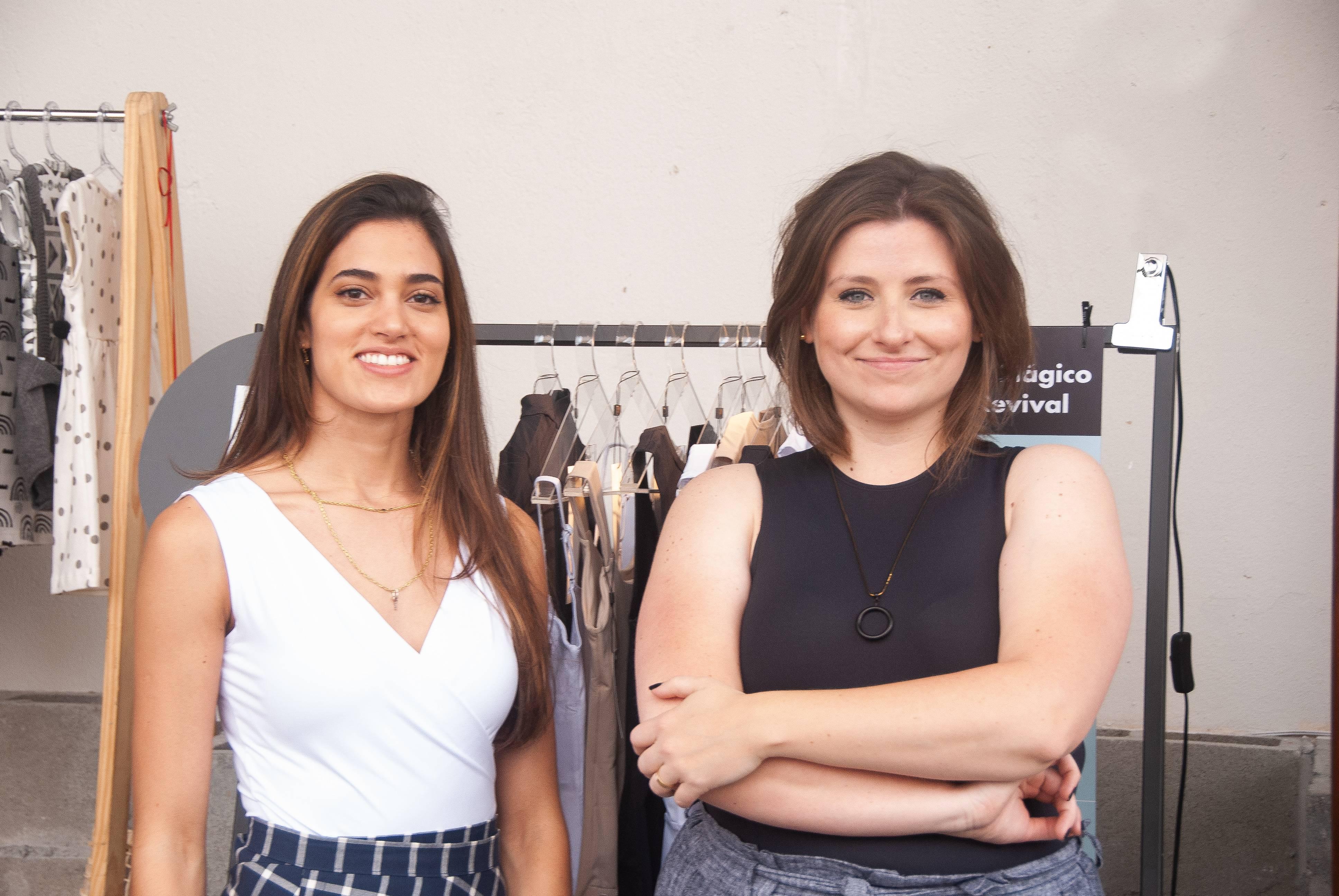 As sócias Marina Abdala e Martina Seefeld. Foto: divulgação.
