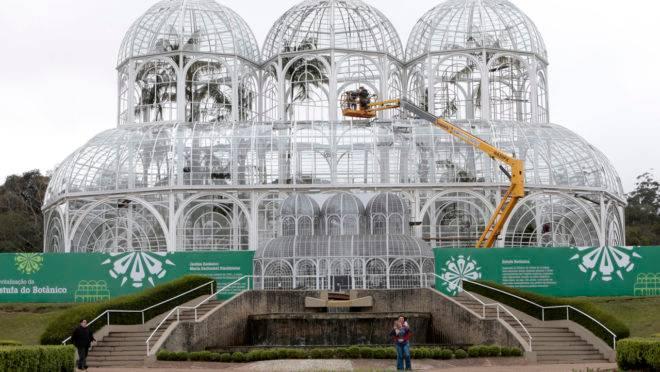 Reforma da estufa do Jardim Botânico começou em janeiro de 2019