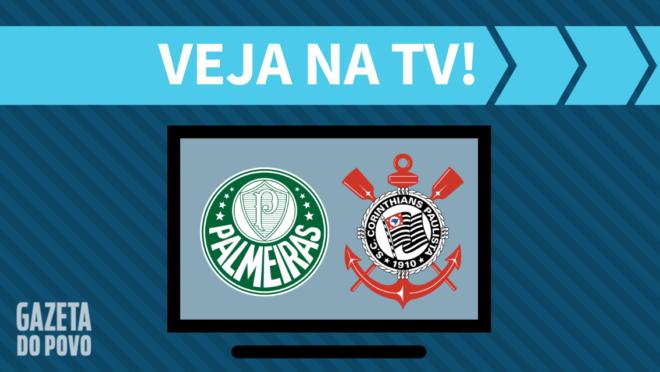 Palmeiras x Corinthians: veja na TV