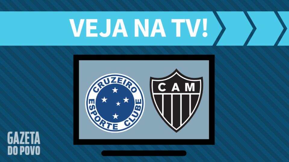 Cruzeiro x Atlético-MG AO VIVO: como assistir ao jogo na TV