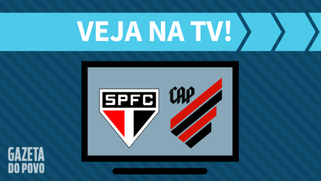 São Paulo x Athletico: veja na TV