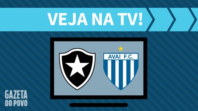 Botafogo x Avaí: veja na TV