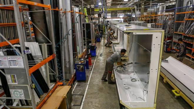 Na média global, a indústria nacional avançou 1,1% em setembro deste ano ante setembro do ano passado
