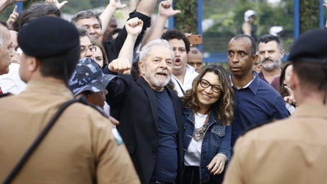 Lula apresentou a nova namorada: 'Janja'