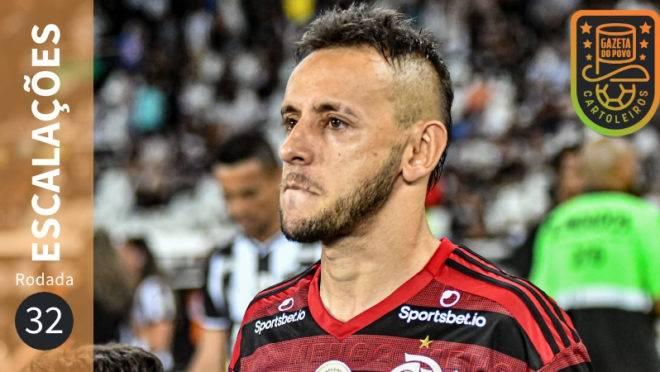 Prováveis escalações da 32.ª rodada do Cartola FC 2019.