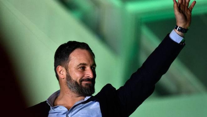Candidato do Vox para primeiro-ministro espanhol, Santiago Abascal