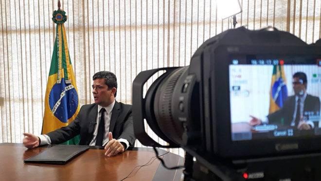Ministro Sergio Moro concedeu entrevista exclusiva à Gazeta do Povo.