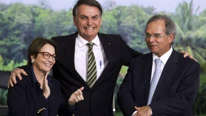 Novo Refis Funrural: Tereza, Bolsonaro, Guedes
