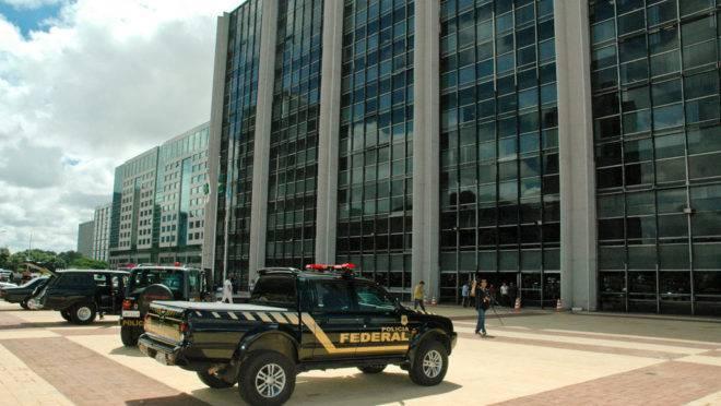 Edifício da Polícia Federal em Brasília.