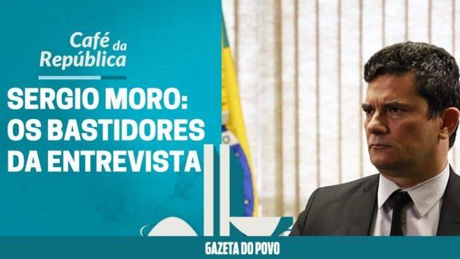 A primeira entrevista de Sergio Moro após a soltura de Lula