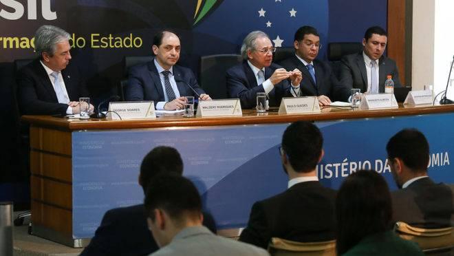 Secretários de Paulo Guedes no Ministério da Economia