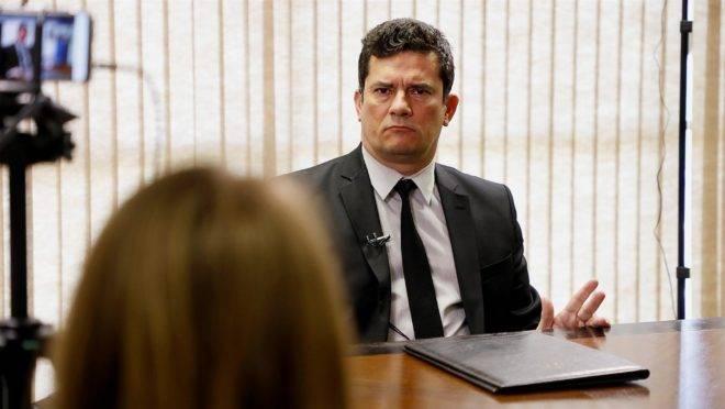 Ministro Sergio Moro falou com exclusividade com a Gazeta do Povo.