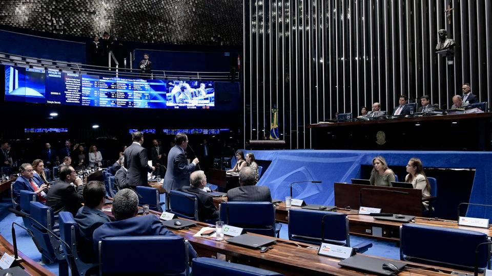 Senado aprova PEC Paralela da Previdência em 2º turno; texto segue para Câmara