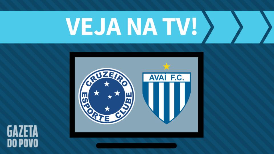 Cruzeiro x Avaí AO VIVO: como assistir ao jogo na TV