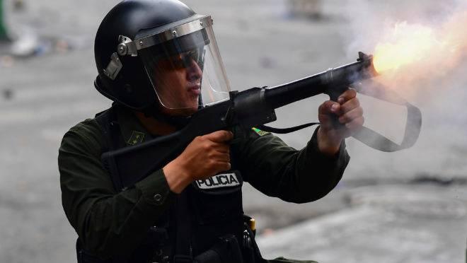 Protestos na Bolívia