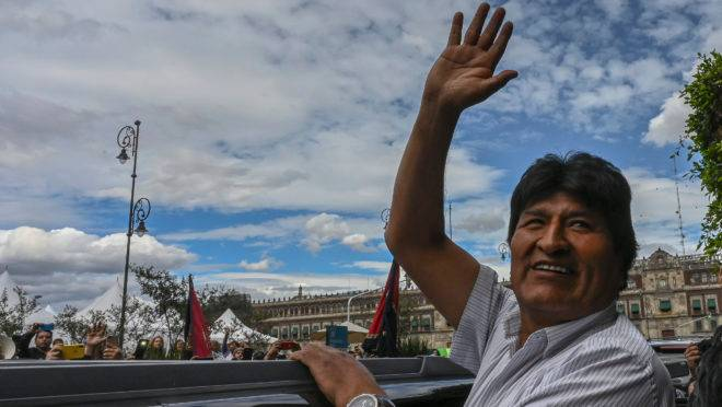 Ex-presidente boliviano Evo Morales está exilado no México