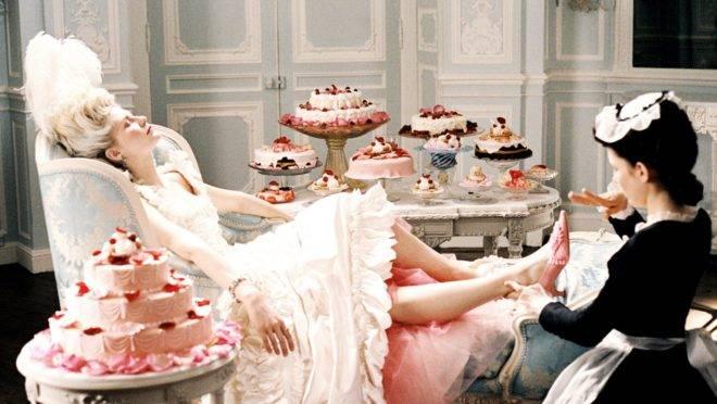 Cena do filme 'Maria Antonieta'
