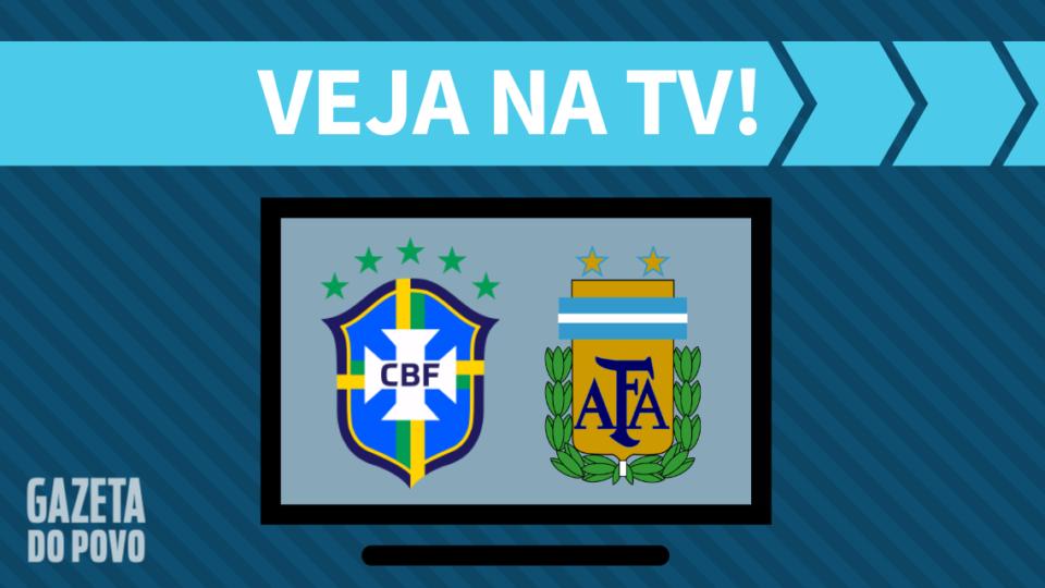 Brasil x Argentina AO VIVO: saiba como assistir ao jogo na TV e online