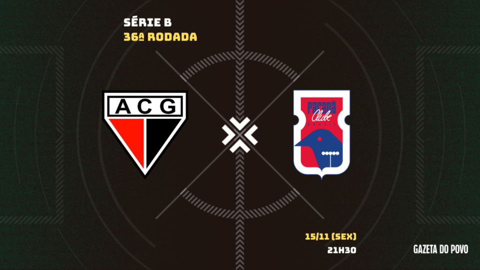 Paraná encara o Atlético-GO em confronto direto pelo acesso: tudo sobre o jogo!