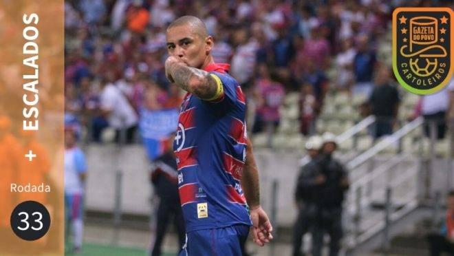 Os mais escalados da 33ª rodada do Cartola FC 2019