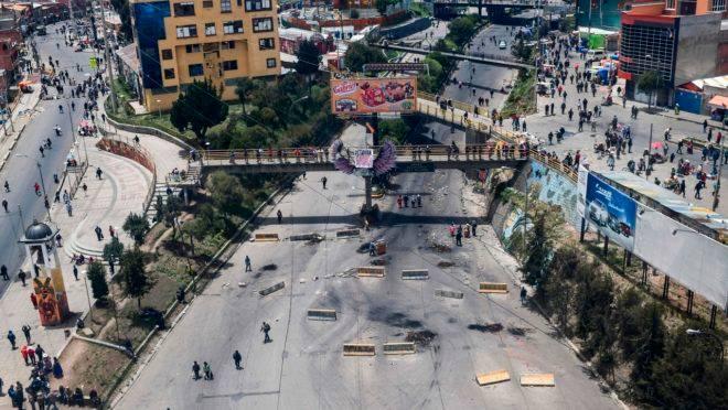 Bloqueios em La Paz: situação na Bolívia gera alerta da ONU