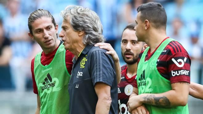 Flamengo venceu novamente o Grêmio, desta vez pelo Brasileirão