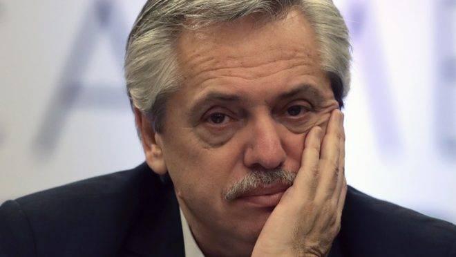 O presidente eleito da Argentina, Alberto Fernandez